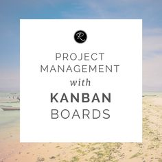 Organise projects (and your life!) easily with Kanban boards!   Please don't be put off by the name 'Kanban', because there is absolutely  nothing complicated about this tool - you might even be using one already  without knowing!  A Kanban board is a visual tool used by Lean/Agile companies (particularly  software, technology and engineering companies, but it is becoming more  mainstream) that helps a team of people keep track of what's going on in a  project.  That being said, you can…