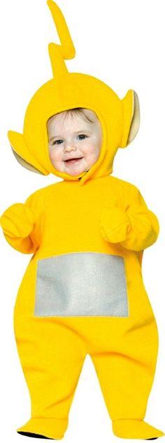 Teletubbies Laa Laa Costume - Toddler Costume 3t To 4t