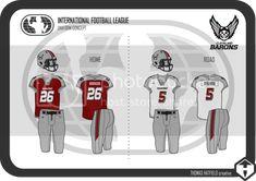 Football Uniforms, International Football, Home Sport, Logo Concept, Sports Logo, Cleveland, Soccer Uniforms
