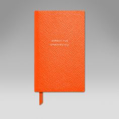 Expect The Unexpected' Panama Notebook - Smythson United States