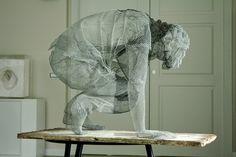 metallic sculptures by edoardo tresoldi