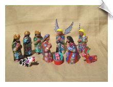 Oaxacan Nativity Set- Love it!