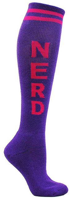 NERD Knee High Socks