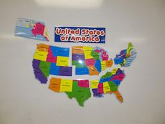 Regions of the United States (Cut and Laminate a Poster) lots of great ways to learn about the regions.