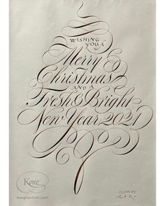 Christmas, season's greetings, English Roundhand, hand crafted artwork Gothic Script, Famous Photographers, In Writing, Christmas Greetings, English, Graphic Design, Lettering, Artwork, Work Of Art