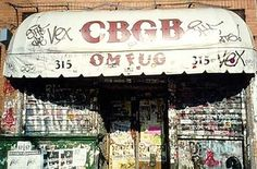 CBGB (315 Bowery) | Iconic NYC Music Venues, Then And Now...taking something you love, a turning it in to a store--Thanks, capitalism!