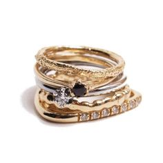 Ring / IOSSELLIANI Kaoru, Iosselliani, Other Accessories, Jewerly, Sparkle, Gems, Bling, Wedding Rings, Fancy