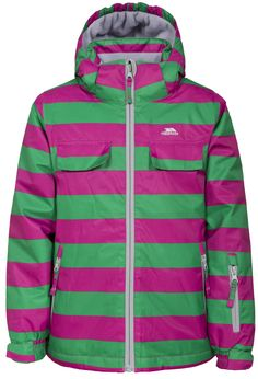 Padded jacket with waterproof rating up to 2 upper pockets, 2 lower zip pockets and 1 sleeve zip pocket. Elasticated cuff with velcro. Girls Ski Jacket, Padded Jacket, Outdoor Outfit, Skiing, Girl Outfits, Underwear, Hoodies, Sleeves, Sweaters