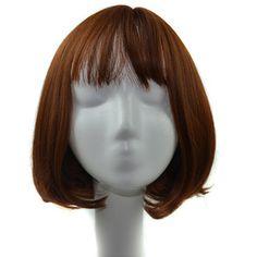 $9.18 (Buy here: https://alitems.com/g/1e8d114494ebda23ff8b16525dc3e8/?i=5&ulp=https%3A%2F%2Fwww.aliexpress.com%2Fitem%2FNatural-Lifelike-Girls-Short-Hair-Bangs-Air-Bang-Bobo-Head-Pear-Wig%2F32766668391.html ) 2016 Cabello humano Hair wigs Natural Lifelike Girls Short Hair Bangs Air Bang Bobo Head Pear Wig Brazilian Pelucas pelo natural for just $9.18