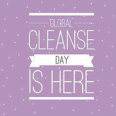 que emociooooon!!  quién esta en cleanse también??  . #globalcleanseday #bodyreset #friendscleansingtogether #adiostoxinas #rompiendomaloshabitos