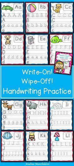 Alphabet Mats - Write & Wipe