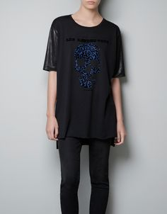 diseño camiseta para zara basic. tshirt design for zara basic