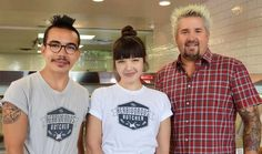 Food Network's Guy Fieri recently taped an episode of the travel show at the Minneapolis-based vegan shop The Herbivorous Butcher.