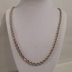 Tiffany & Co Sterling Silver 925 4mm Twist Rope by JewelryGeeks, $299.99