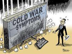 cartoon Koude Oorlog