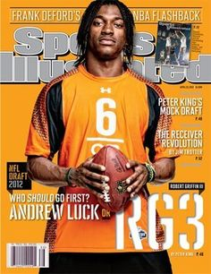 """2012 Robert Griffin III Washington Redskins No Label Sports Illustrated . $15.95. BR>1213 Boyles Houston, Tx 77020713.672.2793 Date: 4/23/2012 Cover: Robert Griffin III (No Mailing Label) Condition: Newsstand This is an original Sports Illustrated Magazine from the above date. This is the entire magazine With NO MAILING LABEL. Feel free to check out our """"Me"""" page above for a link to the nation's largest inventory of back-issue Sports Illustrated magazines. Check out our ..."""