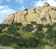 Stoney Point, Simi Valley, bouldering