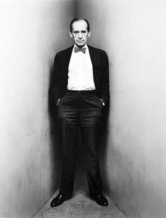 The Bow Tie Crowd. Walter Gropius by Irving Penn.
