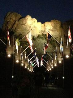 Mount Rushmore National Memorial i Keystone, SD