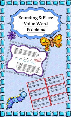 125 Rounding and Place Value Word Problems for 3rd & 4th Graders