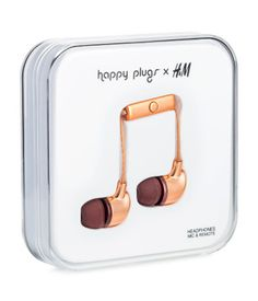 HAPPY PLUGS x H&M: Kr 249,-