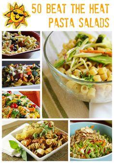 50 Beat The Heat Pasta Salads   MomsTestKitchen.com
