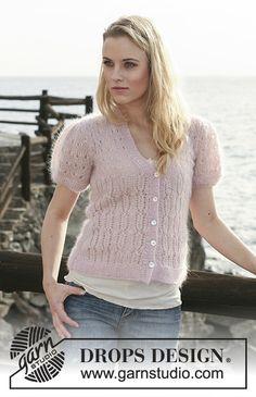 Women - Free knitting patterns and crochet patterns by DROPS Design Knitting Patterns Free, Knit Patterns, Free Knitting, Free Pattern, Drops Design, Crochet Jacket, Knit Crochet, Crochet Design, Magazine Drops