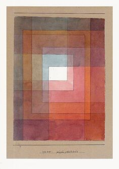"towerofsleep: "" theantidote: "" Paul Klee, polyphon gefasstes Weiss, Feder und Aquarell aud Papier auf Karton, 1930 "" I can't even tell you how much I love Paul Klee. Art Picasso, Pablo Picasso, Modern Art, Contemporary Art, Paul Klee Art, Kandinsky, Color Studies, Art Graphique, Op Art"