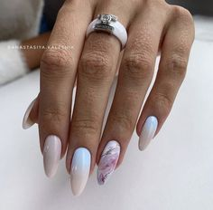 Almond Acrylic Nails, Best Acrylic Nails, Acrylic Nail Designs, Nail Art Designs, Almond Nails, Nails Design, Design Art, Love Nails, Fun Nails