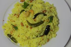 Raw Mango Rice - Mamidikaya Pulihora