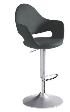 SOFT Counter stool by DOMITALIA design Fabio Di Bartolomei