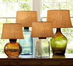 stehlampen kollektion - durchsichtig und farbenfroh