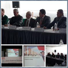 Sesión de @CCRSINFONAVIT  Regional Hidalgo @Infonavit, Sector Empresarial @Concanaco lleva la Presidencia.