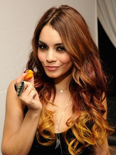 Summer 2015 Hair Color – Vanessa Hudgens
