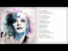 21 Je Ne Regrette Rien Ideas Edith Piaf Singer Musician