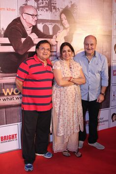 Mera Woh Matlab Nahi Tha, a two-act Hindi play performed by Anupam Kher, Neena Gupta and Rakesh Bedi. The play is written and directed by Rakesh Bedi and produced by Actor Prepares Productions