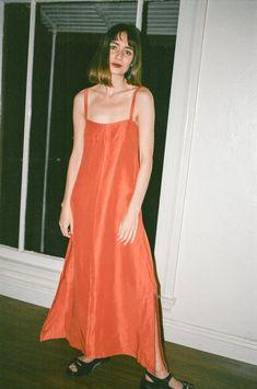 Delfina Balda Nola Dress in Persimmon af94572ea