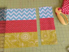 This is the key to help me make a big quilt!  9-Patch Big Block Quilt Tutorial. Awesome!