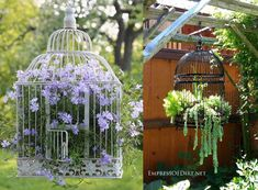 DIY Gartendeko selber machen – VogelkäfigdekoYou are in the right place about bird in flight Here we offer you the most beautiful pictures about the bird paper you are looking for. When you examine the DIY Gartendeko selber machen – Vogelkäfigdeko Diy Garden Decor, Garden Art, Garden Types, Garden Decorations, Beautiful Gardens, Beautiful Flowers, Simply Beautiful, Cool Flowers, Romantic Flowers