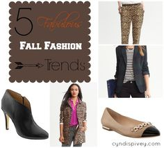 5 Fabulous Fall Fashion Trends