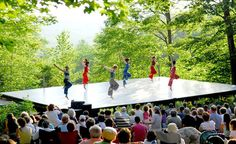 Jacob's Pillow Inside/Out Stage | berkshireonstage.com #dance