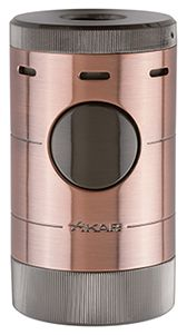 XIKAR Volta Tabletop Cigar Lighter in Vintage Bronze & Gunmetal Finish Camera Aperture, Cigar Lighters, Cigars, Bronze, Tabletop, Metal, Buy Weed, Quad, Vintage