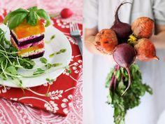 Beet Mille-Feuille based on La Tartine Gourmand Cookbook