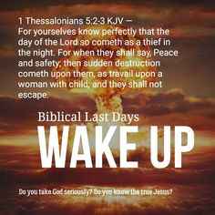 Faith Quotes, Bible Quotes, End Times Prophecy, Prophecy In The Bible, Book Of Revelation Quotes, Prayer Verses, Jesus Is Coming, 1 Thessalonians