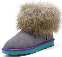 The Fox Fur UGG Boots