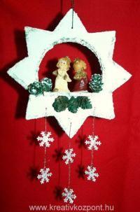 Karácsonyi pályázat - Karácsonyi ajtó vagy ablakdísz