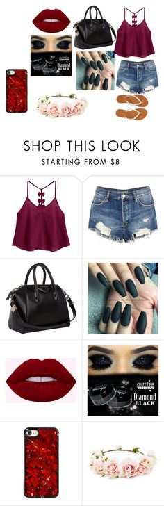 """senior year"" by niasharp on Polyvore featuring Free People, Aéropostale, Givenchy and Forever 21"