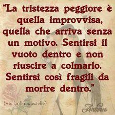 #tristezza
