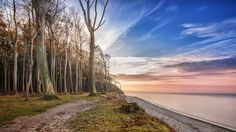'Ostsee meets Gespensterwald' by Michael Onasch on artflakes.com as poster or art print $16.63
