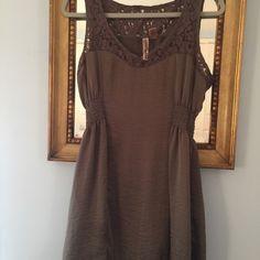 Dress Sexy brown flirty dress! Eyeshadow Dresses Mini